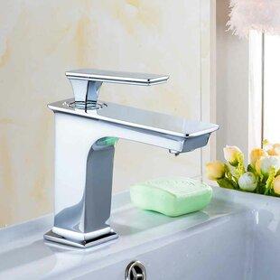 Deals Semi-Recessed Rectangular Vessel Bathroom Sink with Faucet ByRoyal Purple Bath Kitchen