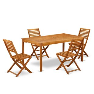 Clifton 5 Piece Patio Dining Set