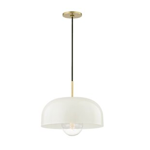 Wrought Studio Honore 1-Light Dome Pendant