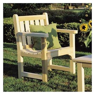 English Garden Cedar Wood Adirondack Chair