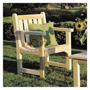 English Garden Cedar Wood Adirondack Chair