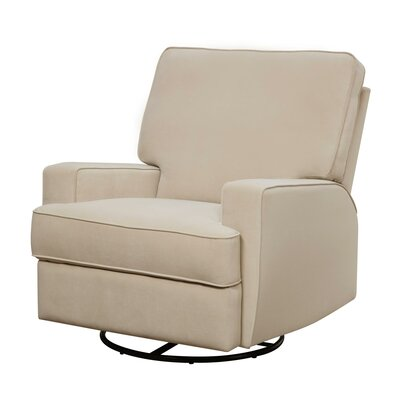 Mack & Milo Aisley Reclining Glider Color: Beige