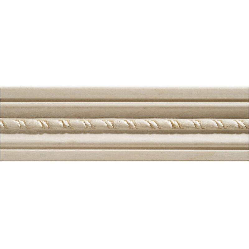 Hardwood Embossed Rope Door and Window Moulding 2 13