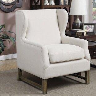 Shepherd Wingback Chair by Gracie Oaks