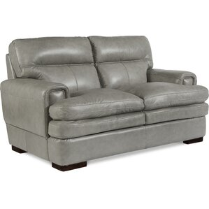 Jake Genuine Leather Loveseat by La-Z-Boy