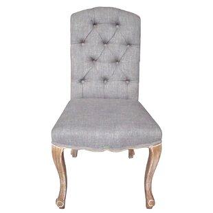 Aucoin Estelle Designer Upholstered Dining Chair (Set of 2)
