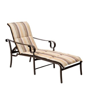 Ridgecrest Chaise Lounge With Cushion by Woodard Read Reviews