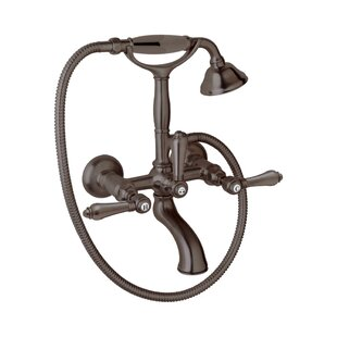 Rohl Country Bath Triple Handle Wall Moun..