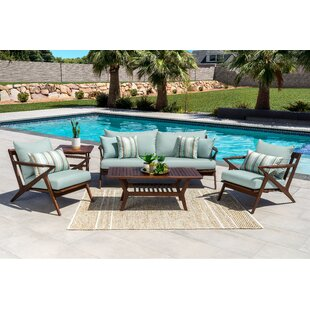 Madonna 5 Piece Sofa Seating Group with Cushions