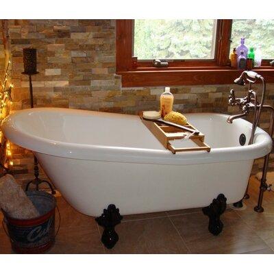 """Restoria Bathtub Company Imperial 66"""" x 30"""" Freestanding Bathtub Colour: Oil Rubbed Bronze"""