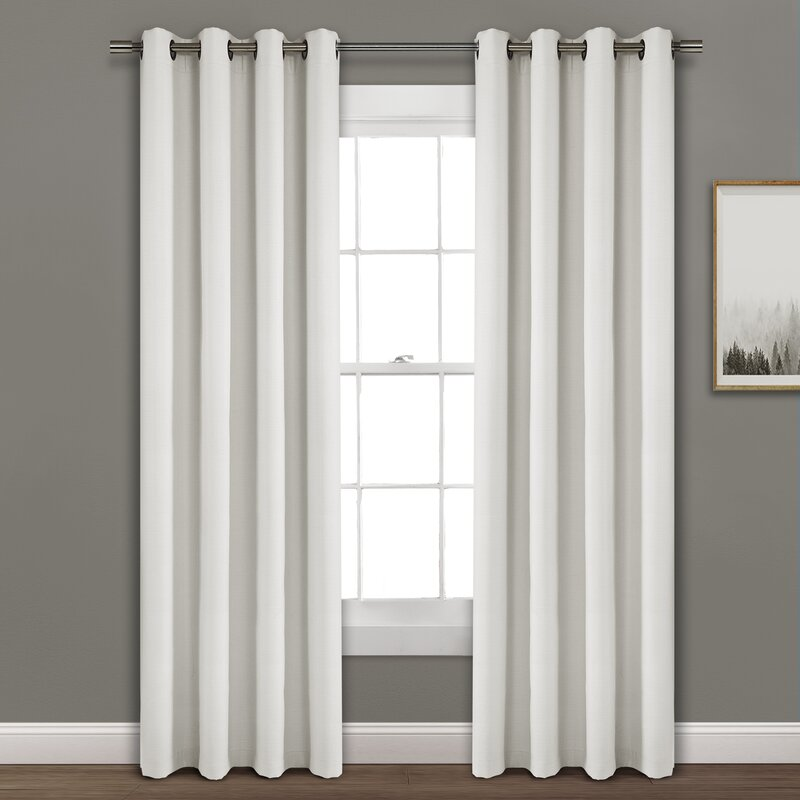 Darby Home Co Shayla Window Solid Max Blackout Thermal Grommet Single Curtains Reviews Wayfair
