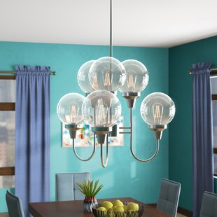 Langley Street Tristin Indoor 6-Light Candle-Style Chandelier