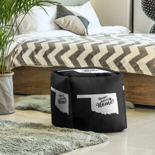 Sweet Home Tulsa Cube Ottoman By East Urban Home