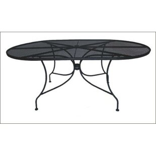 Charleston Oval Wrought Iron Dining Table..