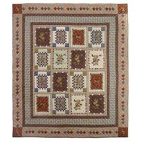 Darby Home Co Peter Acres of Acorns Quilt