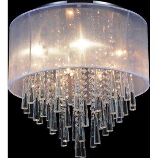 8-Light Flush Mount by CWI Lighting