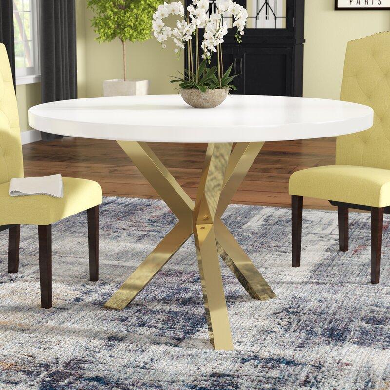 Wade Logan Elmore Dining Table Reviews Wayfair