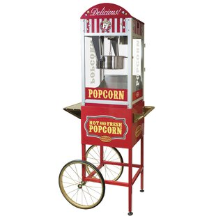 12 Oz. Kettle Professional Popcorn Cart