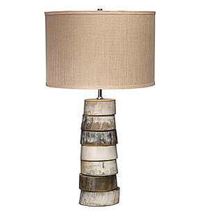 Tarpon Stacked Horn 27 Table Lamp
