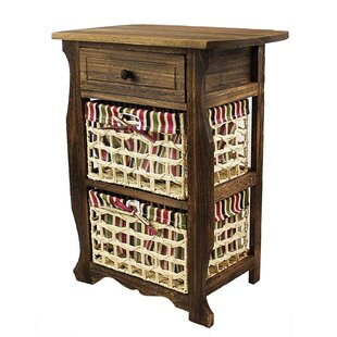 Steinberger Classic Countryside Wood Storage 1 Drawer Nightstand by Millwood Pines
