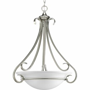 Fleur De Lis Living Lilly 3-Light Bowl Pendant