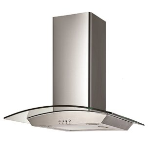 30 Wall Glass Canopy 400 CFM Ducted Wall Mount Range Hood