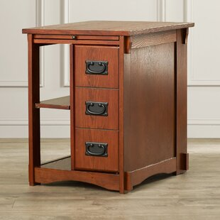 Belsay End Table With Storage by Alcott Hill
