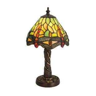 Meyda Tiffany Scarlet Art Glass Tiffany H..