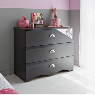 Tatoo 3 Drawer Dresser by Parisot