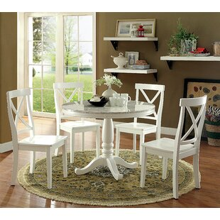 Adamsburg 5 Piece Dining Set August Grove