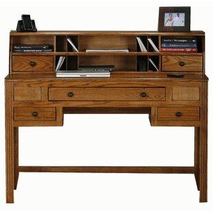 Loon Peak Glastonbury 2 Drawer and Keyboard Tray Writing Desk