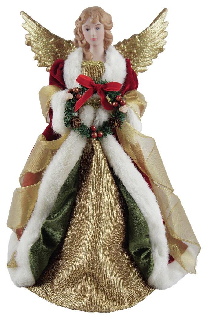 Christmas Angel Tree Topper.Christmas Angel Tree Topper
