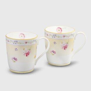 Jeune Fleur 10 oz. Mug (Set of 2)