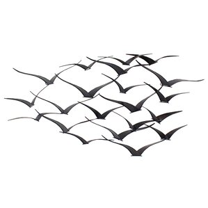 Wayfair Wall Decor metal birds wall decor | wayfair