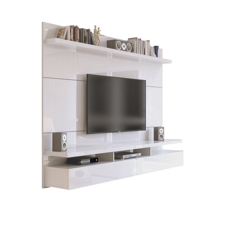 Latitude Run Boone Entertainment Center For Tvs Up To 86 Reviews