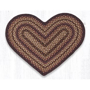 Reviews Braided Black Cherry Area Rug ByEarth Rugs