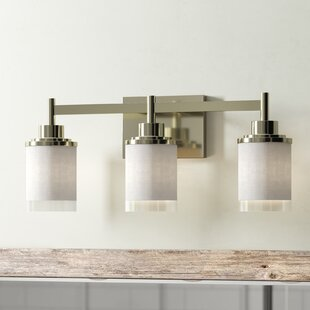 Great choice Erlandson 3-Light Vanity Light ByWrought Studio