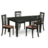Septimus 5 Piece Extendable Dining Set by August Grove®