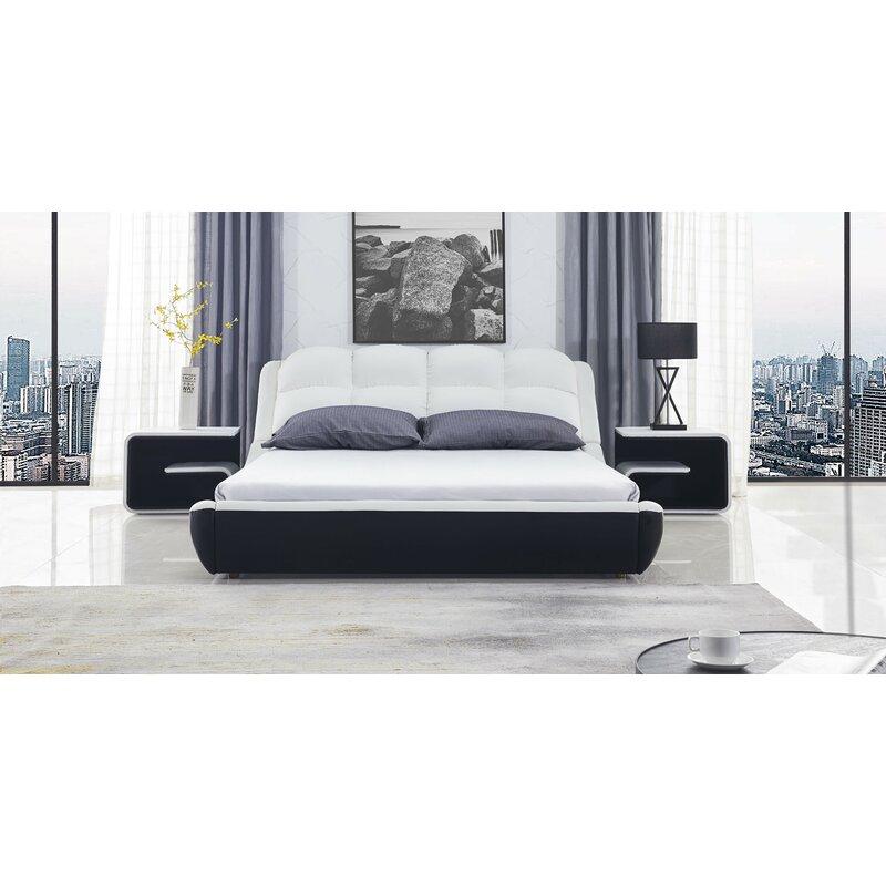 Orren Ellis Cornelie Queen Platform Configurable Bedroom Set Reviews Wayfair Ca