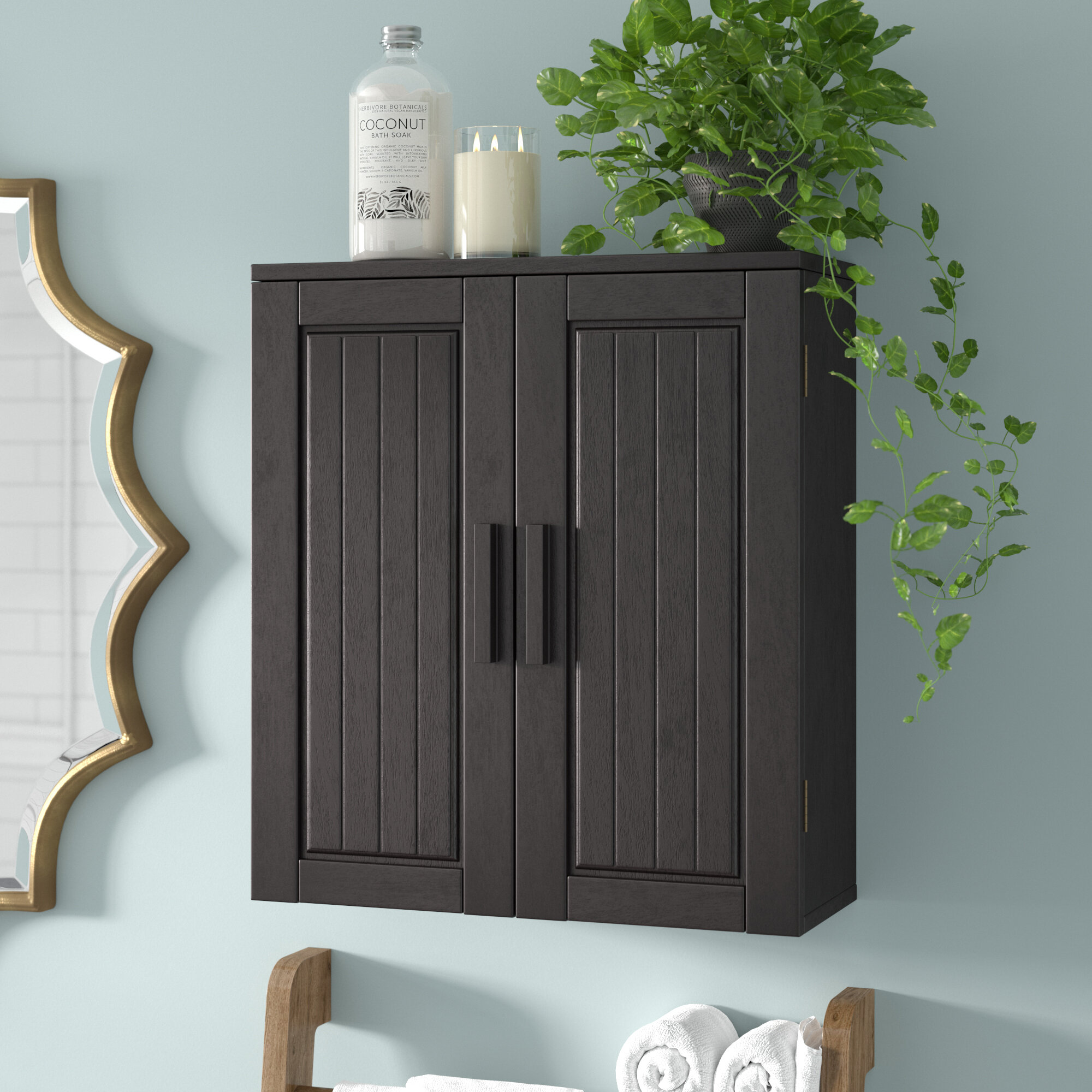 Bloomsbury Market Tellisford 20 W X 22 5 H X 8 Wall Mounted Bathroom Cabinet Reviews Wayfair