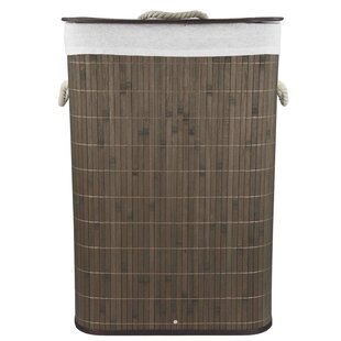New Style Rect Folding Laundry Hamper ByHome Basics