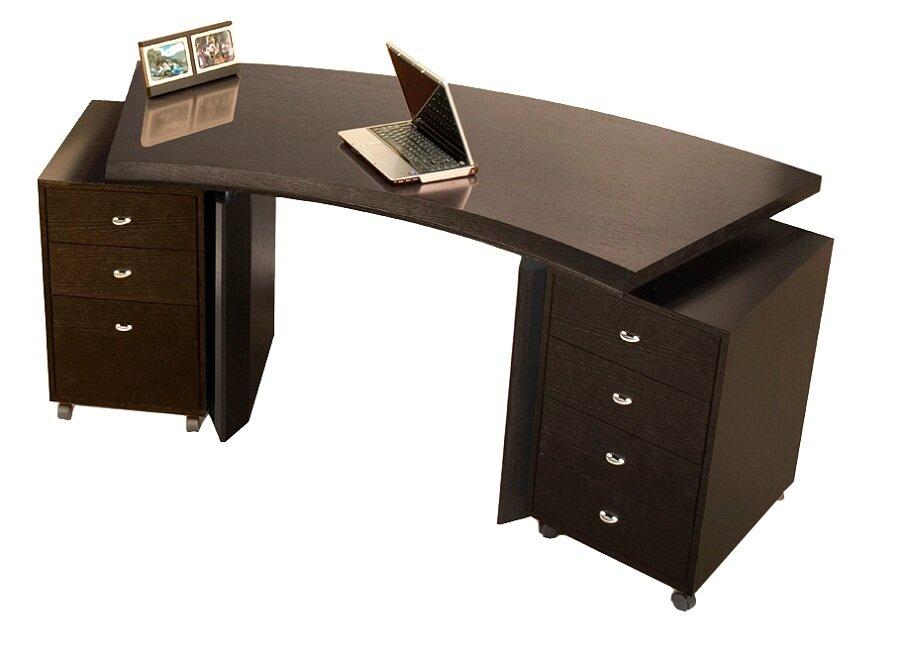 Bali Curved Executive Desk