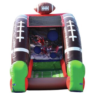 Inflatable Football Game Bounce House By JumpOrange