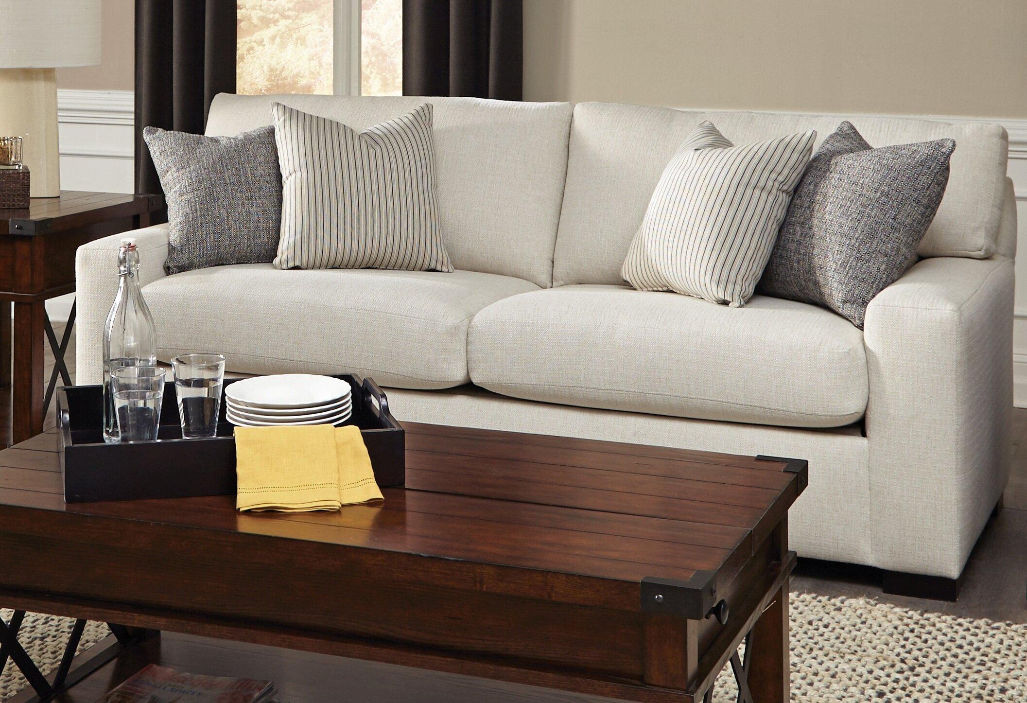 Square Arm Sofa Bed