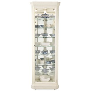 Alcott Hill Carrizal Lighted Curio Cabinet
