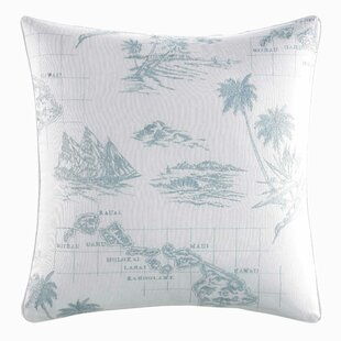 Sailaway Cotton Throw Pillow