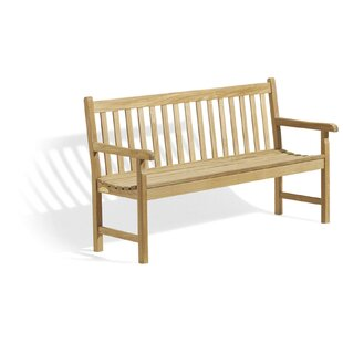 Onondaga Wooden Garden Bench by Millwood Pines