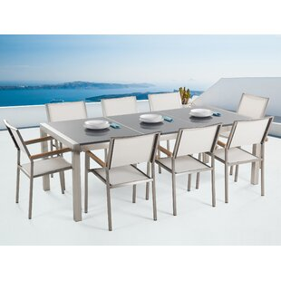 Burrough 8 Seater Dining Set By Sol 72 Outdoor
