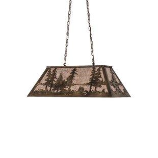 Meyda Tiffany Tall Pines 6-Light Pendant