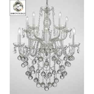 Keeton 10-Light Candle Style Chandelier by House of Hampton
